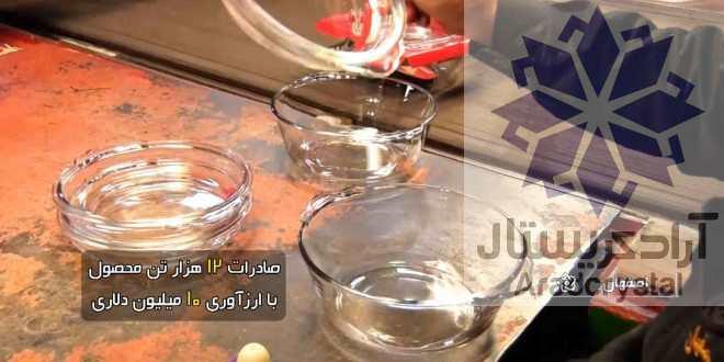 صادرات بلور و کریستال ایرانی