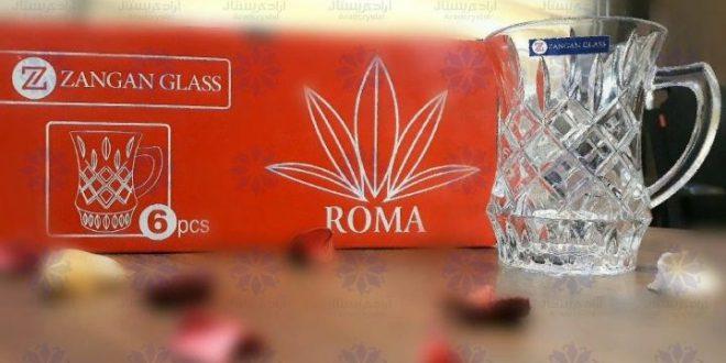 محصولات شیشه بلور زنگان